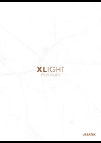 Catálogos e Coleções Porcelanosa Lisboa : XLight Premium Urbatek