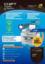 Folhetos CHIP7 : Reduza o custo de impressão na sua empresa!