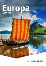 Catálogos e Coleções Viagens El Corte Inglés : Europa 2017-2018