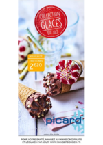 Catalogues et collections Picard : Collection glaces été 2017