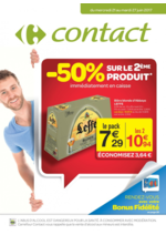 Prospectus  : -50% sur le 2ème produit