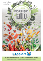 Prospectus E.Leclerc : Mes courses BIO