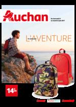 Prospectus Auchan : En route pour l'aventure