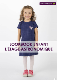 Catalogues et collections Sergent Major Mons : Lookbook enfant L'étage astronomique