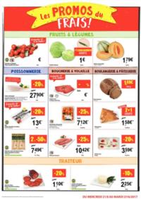 Prospectus Carrefour Market GERAARDSBERGEN : Les promos du frais