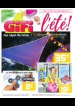 Prospectus Gifi : Les incontournables de l'été