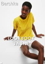 Catalogues et collections Bershka : Lookbook Jaune