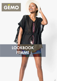 Catalogues et collections Gemo ORGEVAL : Lookbook femme