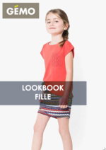 Catalogues et collections Gemo : Lookbook fille