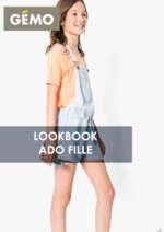 Catalogues et collections Gemo : Lookbook ado fille