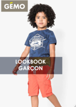 Catalogues et collections Gemo : Lookbook garçon