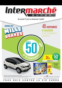 Prospectus Intermarché Super Camon : Grand jeu mille bornes III