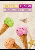 Promos et remises Monoprix : Ce serait un ice cream de na pas en profiter