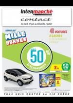 Prospectus Intermarché Contact : Grand jeu mille bornes III