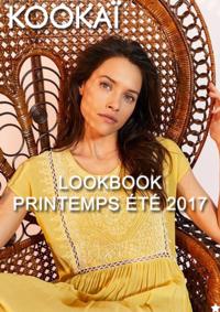 Catalogues et collections KOOKAÏ Paris 21-25 Cours de Vincennes : Lookbook printemps été 2017