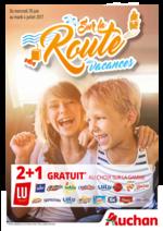 Prospectus Auchan : Sur la route des vacances