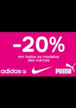 Promoções e descontos Deichmann : -20% Adidas e Puma