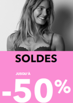Promos et remises  : Votre lingerie préférée en SOLDE