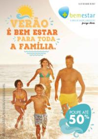 Folhetos BemEstar Benavente : Verão é bem estar para toda a família