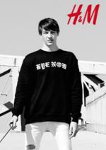 Catalogues et collections H&M : Lookbook homme C'est votre style