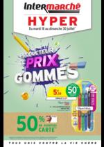Prospectus Intermarché Hyper : Producteur de prix gommés