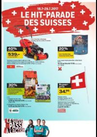 Prospectus Coop Brico+Loisirs Bern : Le hit parade des Suisses