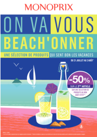 Prospectus Monoprix LA CELLE SAINT CLOUD : On va vous beach'onner