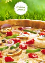 Catalogues et collections Pizza hut : Venez déguster la Printanière