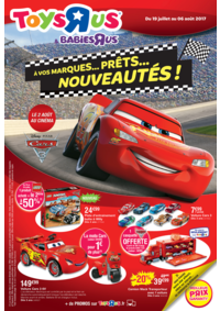 Prospectus Toys R Us MARNE la VALLEE : À vos marques...prêts...nouveautés !