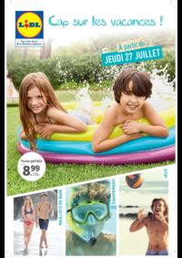 Prospectus Lidl CHAMBOURCY : Cap sur les vacances !