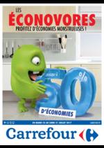 Prospectus Carrefour : Les éconovores profitez d'économies monstrueuses !