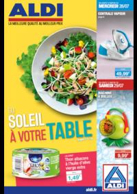Prospectus Aldi Corbeil-Essonnes : Du soleil à votre table