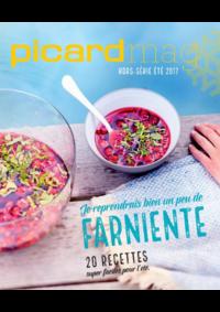Journaux et magazines Picard VIROFLAY 201 AV DU GENERAL LECLERC : Picard Mag hors série été 2017