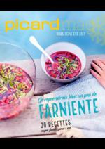 Journaux et magazines Picard : Picard Mag hors série été 2017