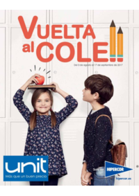 Folleto Hipercor Madrid Andes : Vuelta al cole