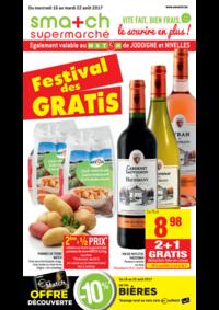 Prospectus Smatch Schaerbeek : Festival des GRATIS