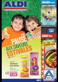 Prospectus Aldi Argenteuil : Une pause aux saveurs estivales