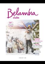 Promos et remises  : Belambra clubs hiver 2017-2018