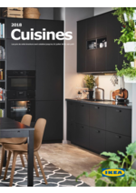 Catalogues et collections IKEA : Catalogue Cuisines 2018