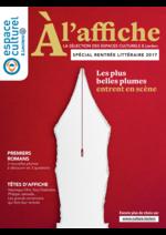 Prospectus Espace culturel E.Leclerc : A l'affiche