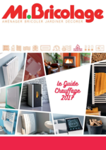 Prospectus Mr Bricolage : Le guide chauffage 2017