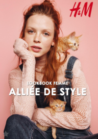 Catalogues et collections H&M Anderlecht : Lookbook femme Alliée de style