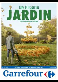 Prospectus Carrefour Drancy : Bien plus qu'un jardin tout pour préparer l'automne