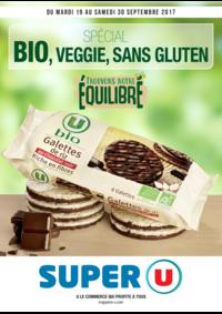 Prospectus Super U LE THILLAY : Spécial bio, veggie, sans gluten