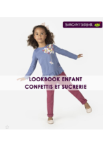 Catalogues et collections Sergent Major : Lookbook enfant Confettis et sucrerie