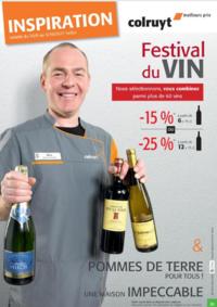 Prospectus Colruyt ANDERLECHT - VEEWEYDE : Festival du vin