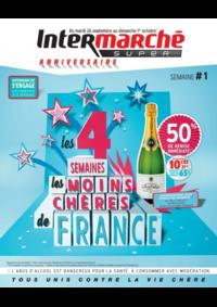 Prospectus Intermarché Super Bondy : Les 4 semaines les moins chères de France