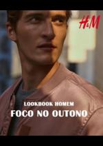 Promoções e descontos  : Lookbook homem Foco no outono