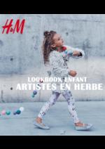 Promos et remises  : Lookbook enfant Artistes en herbe