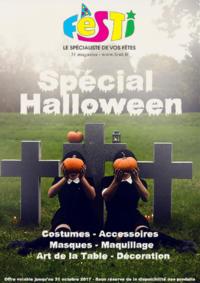 Prospectus Festi : Spécial Halloween